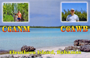 C6ANM - Eleuthera Islands, Bahamas
