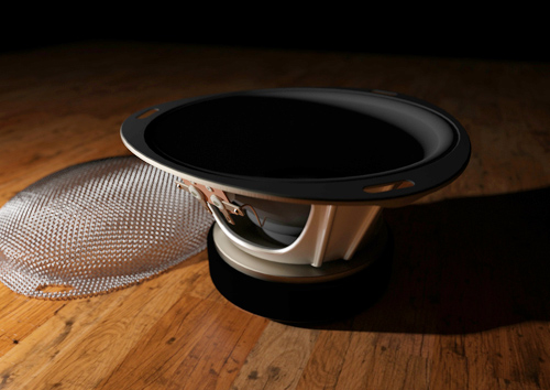 Speaker with Mesh Grill