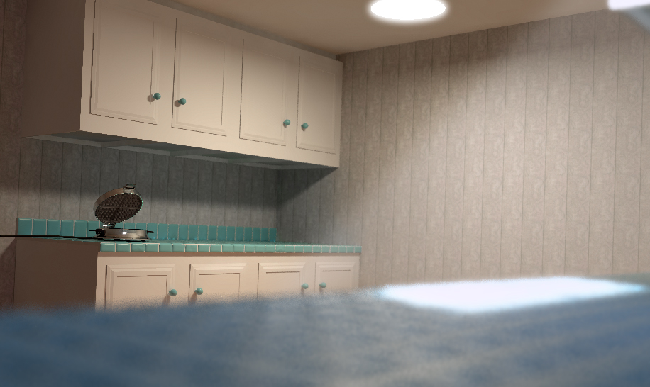 Kitchen Scene Render