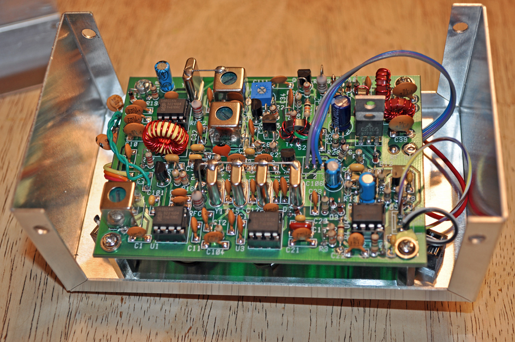 K4ICY's SW+40 QRP Transceiver